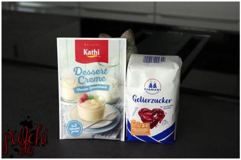 KATHI Dessert Creme Vanille Geschmack || Diamant Gelierzucker 2:1 für Küchenmaschinen mit Kochfunktion