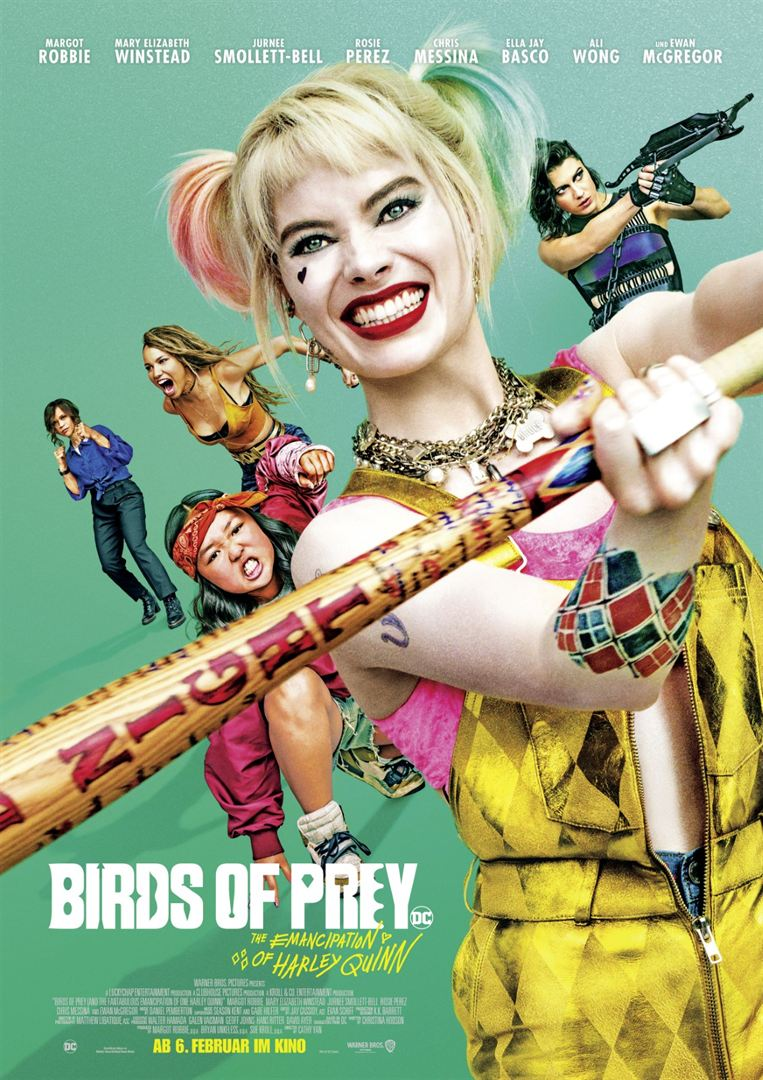 Birds Of Prey ~ The Emancipation Of Harley Quinn